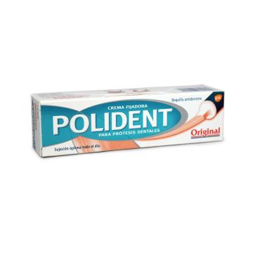 Polident Crema Fijadora para Prótesis Dentales 40g
