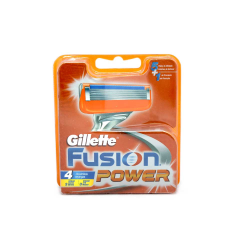 Gillette Fusion Power Recambios x4/ Refills