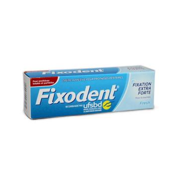 Fixodent Fresh Complete Denture Adhesive / Crema adhesiva para la Dentadura 47g
