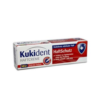 Kukident Haftcreme Haftschutz 40g/ Fijación Dentadura