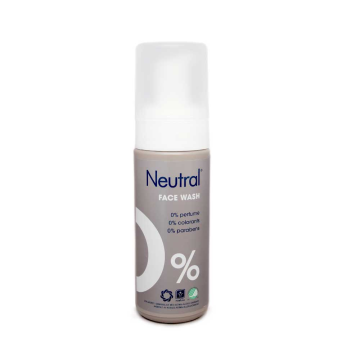 Neutral 0% Face Wash 150ml/ Limpiador Facial Sin Parabenos