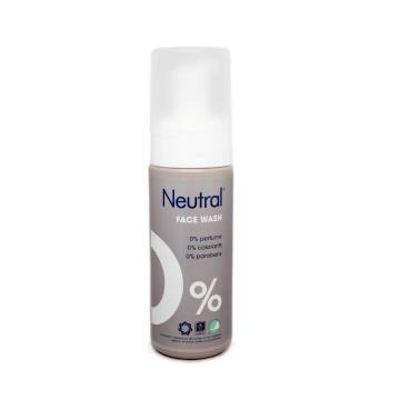 Neutral 0% Face Wash / Limpiador Facial Sin Parabenos 150ml