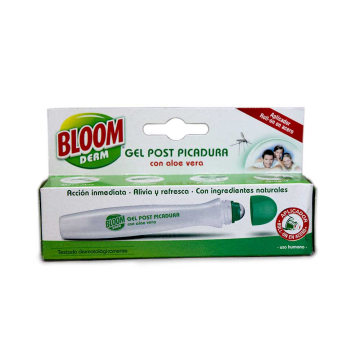 Bloom DermProtect Gel Post Picadura Aloe Vera Roll-On 10ml/ Balm for Mosquito Bites