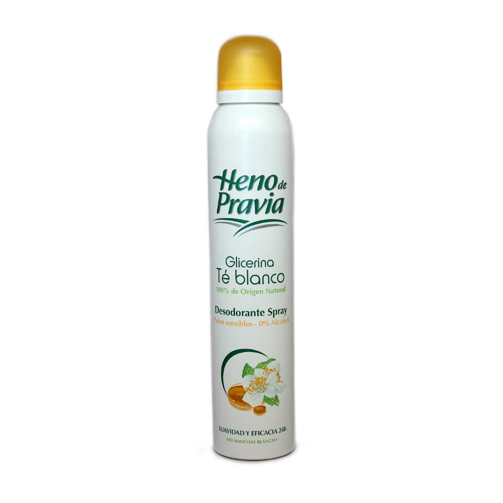 Heno De Pravia Té Blanco Desodorante Spray Piel Sensible 200ml Supermercado Costablanca Sl