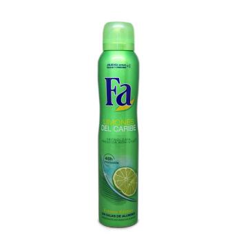 Fa Limones del Caribe Frescor 48h Desodorante Spray 200ml/ Deodorant