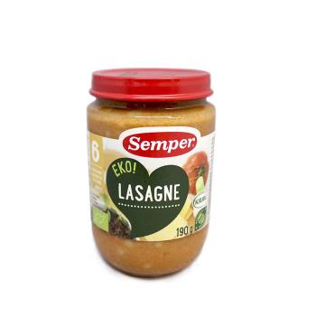 Semper Lasagne 190g/ Potito Lasaña