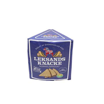 Leksands Knäcke Trekant Normalgäddat 200g/ Rye Crunchy Bread