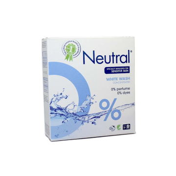 Neutral White Wash Concentrated 675g/ Detergente en Polvo para Ropa Blanca