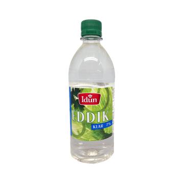 Idun Eddik 7% Klar 0.6L / White Vinegar