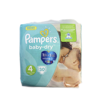 Pampers Baby-Dry Maxi 4 x30/ Diapers Size4