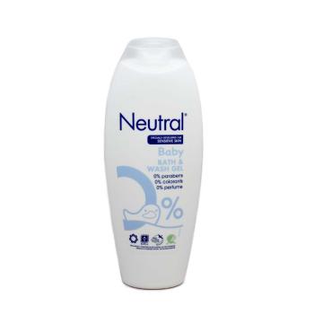 Neutral Baby Bath & Wash Gel / Gel de Baño para Bebé 250ml