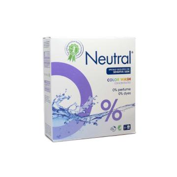 Neutral Color Wash Concentrated / Detergente en Polvo para Ropa de Color 771g