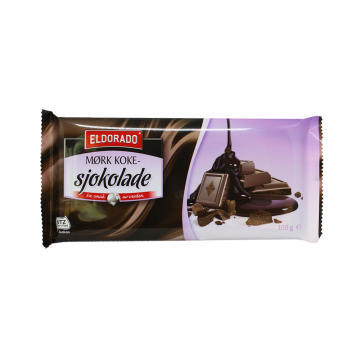 El Dorado Mørk Koke Sjokolade 100g/ Cooking Dark Chocolate