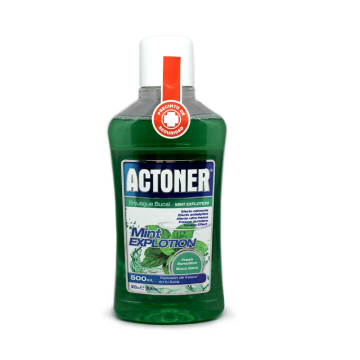 Actoner Mint Explotion Enjuague Bucal 500ml
