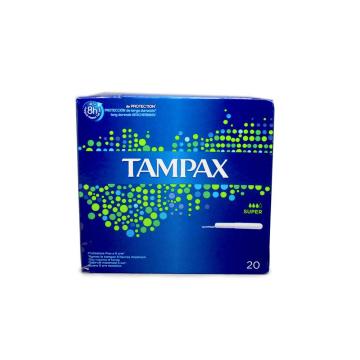 Tampax Super Tampones x20