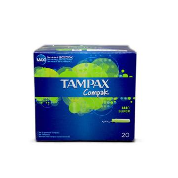 Tampax Compak Super Tampones x20/ Tampons