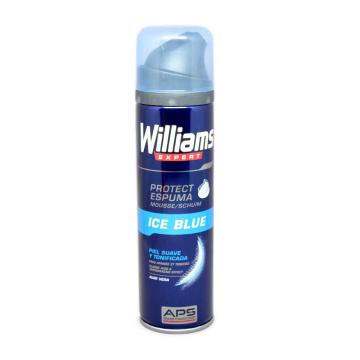 Williams Expert Ice Blue Protect Espuma para Afeitado 500ml/ Shaving Foam