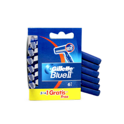 Gillette Blue II Recambios 5+1/ Refills