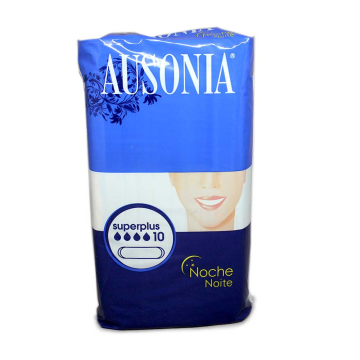 Ausonia Super Plus Noche Compresas x10/ Sanitary Towels