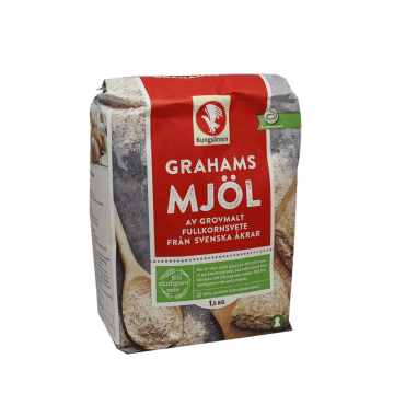 Kungsörn Grahamsmjöl 1,5Kg/ Harina 4 Cereales
