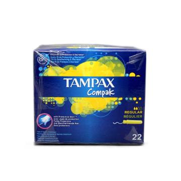Tampax Compak Regular Tampones x22