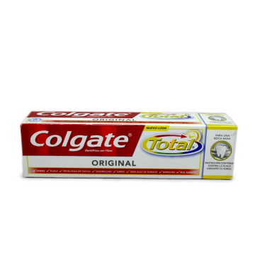 Colgate Total Original con Flúor 75ml/ Toothpaste with Fluoride