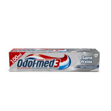 Odol Med 3 Zahncreme Samt Weiss 100ml/ Whitening Toothpaste