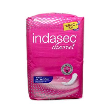Indasec Discreet Extra Compresas x20