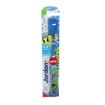 JordanCepillo Dental Infantil Suave 6-9 años/ Kids Toothbrush