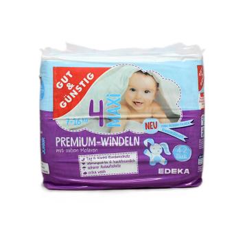 Gut&Günstig Premium Windeln Maxi 4 x42/ Diapers Size 4