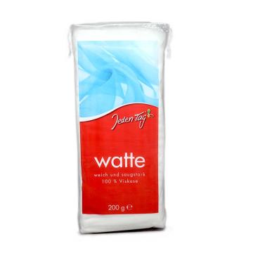 Jeden Tag Watte 100% Viskose 200g/ Cotton