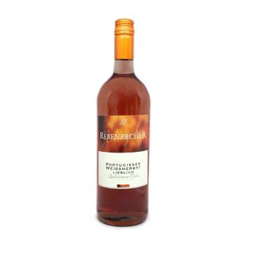 Rebenzecher Weine Portugieser Weissherbst/ German Rosé Wine