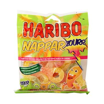 Haribo Nappar Zourr 80g/ Golosinas Mezcla Ácidas