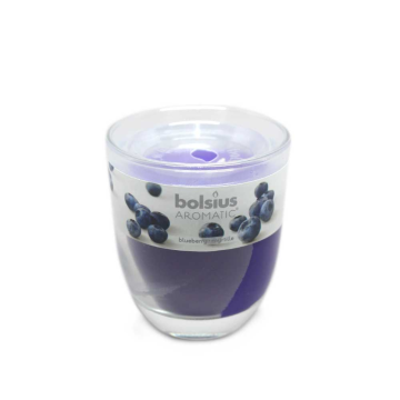Bolsius Aromatic Blueberry/ Candle with Fragance