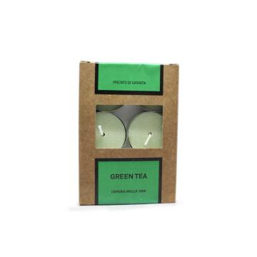 Cerería Mollá Velas de Té Green Tea x6