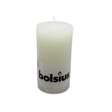Bolsius Stompkaars Rustiek 130/68 Ivoor/ Ivory Candle