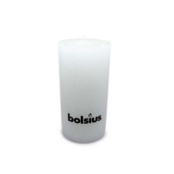 Bolsius Stompkaars Rustiek 200/100 Wit/ Vela Rústica Blanca