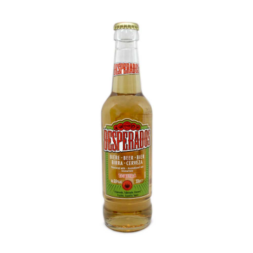 Desperados Cerveza con Tequila 5,9% 33cl/ Beer with Tequila