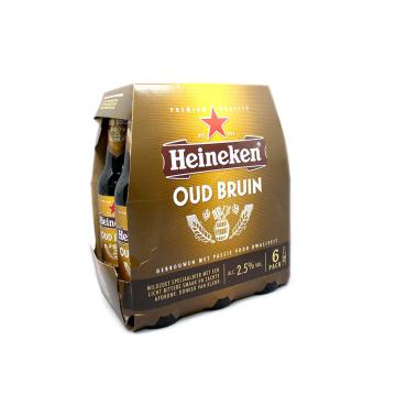 Heineken Oud Bruin 30cl Pack6/ Cerveza