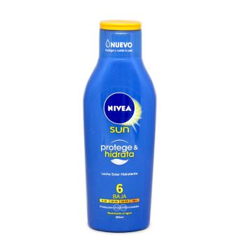 Nivea Sun Protege e Hidrata F6 Crema 200ml/ Sun Lotion