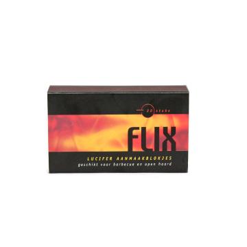 Flix Lucifer Aanmaakblokjes x20/ Cerillas
