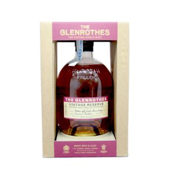 The Glenrothes Vintage Reserve Single Malt Whisky 70cl/ Whisky Reserva