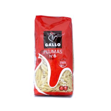 Gallo Plumas n6 500g/ Pasta Macaroni