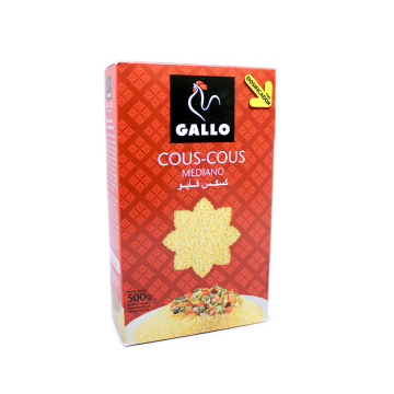 Gallo CousCous Mediano 500g/ Couscous Medium Grain