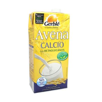 Gerblé Bebida de Avena con Calcio 1L/ Oats Calcium Drink