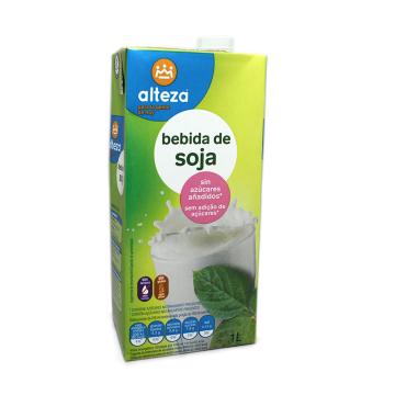 Alteza Bebida de Soja sin Azúcares 1L/ Soya Drink Sugar-free