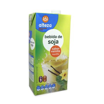 Alteza Bebida de Soja Vainilla 1L/ Vanilla Soya Drink