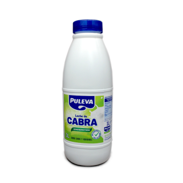 Puleva Leche de Cabra Semidesnatada 1L/ Semi Skimmed Milk