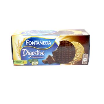 Fontaneda Digestive Galletas Avena&Chocolate 250g/ Cookies Oats&Chocolate