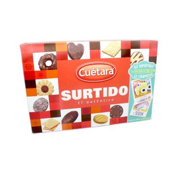 Cuétara Surtido Galletas El Auténtico 210g/ Biscuits Variety